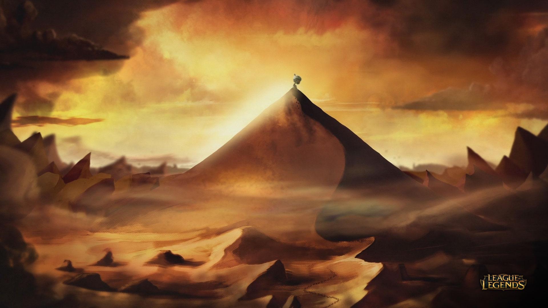 "Amumu ""Curse of the Sad Mummy"" Wallpaper (1)"