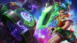 Arcade Riven and Battle Boss Blitzcrank