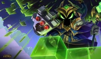 Arcade (Final Boss) Veigar Wallpaper
