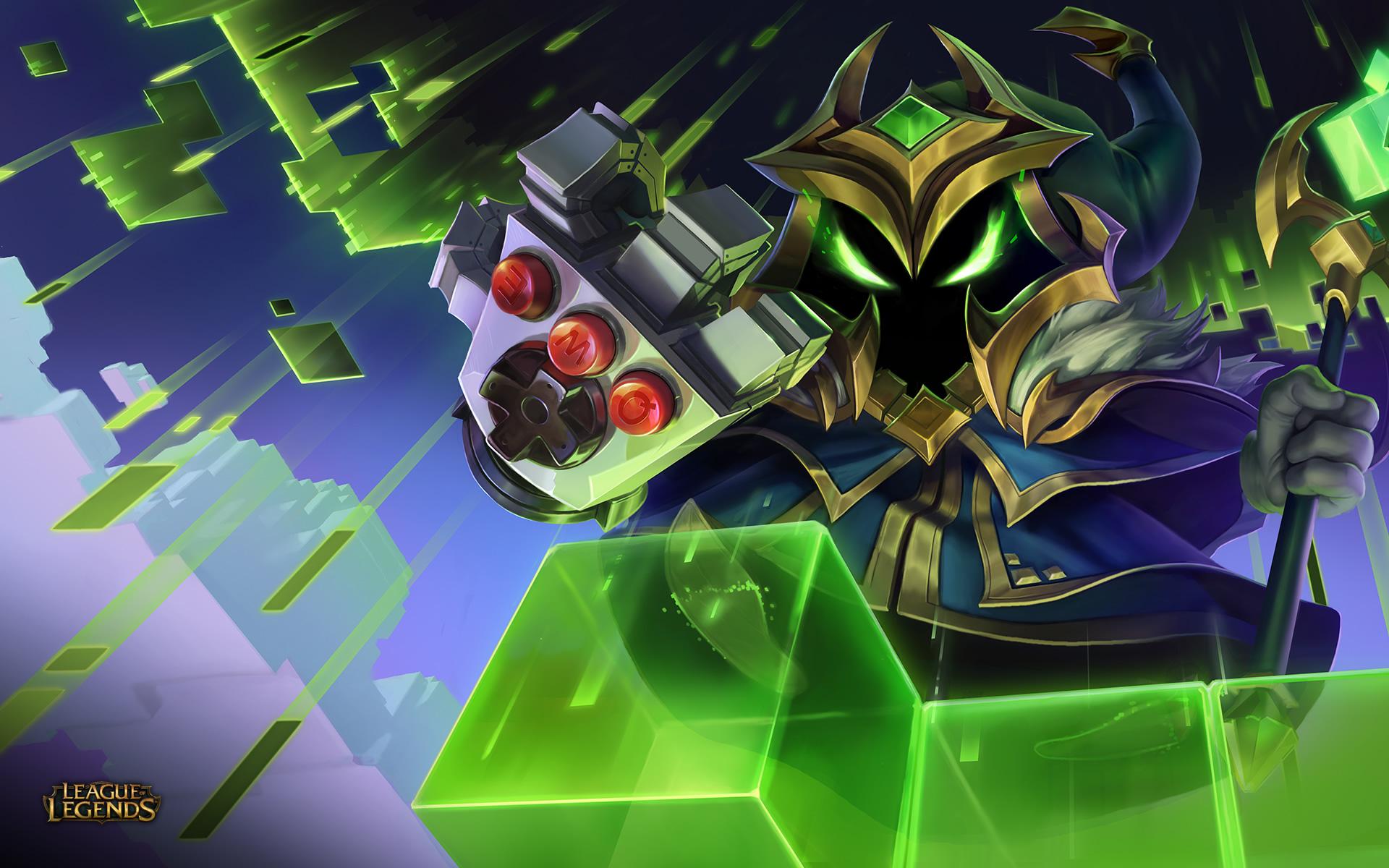 Arcade Final Boss Veigar Wallpaper League Of Legends Wallpapers