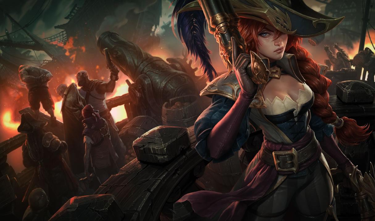Captain Miss Fortune Skin