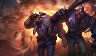 Captain Volibear and Constable Trundle Skins