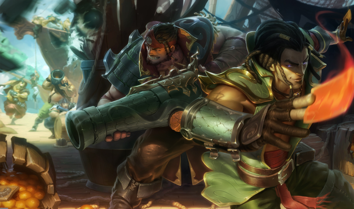 Cutthroat Graves and Cutpurse Twisted Fate Skins