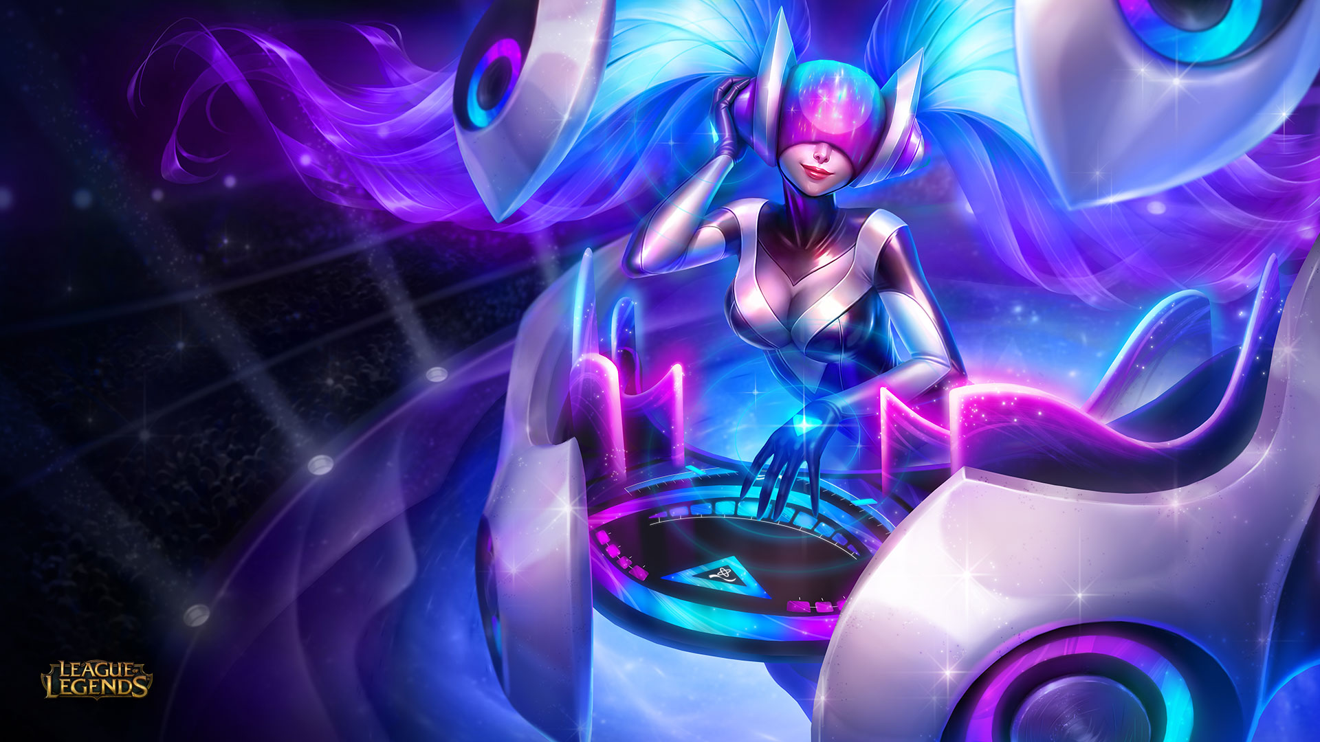 DJ Sona Wallpaper – Ethereal