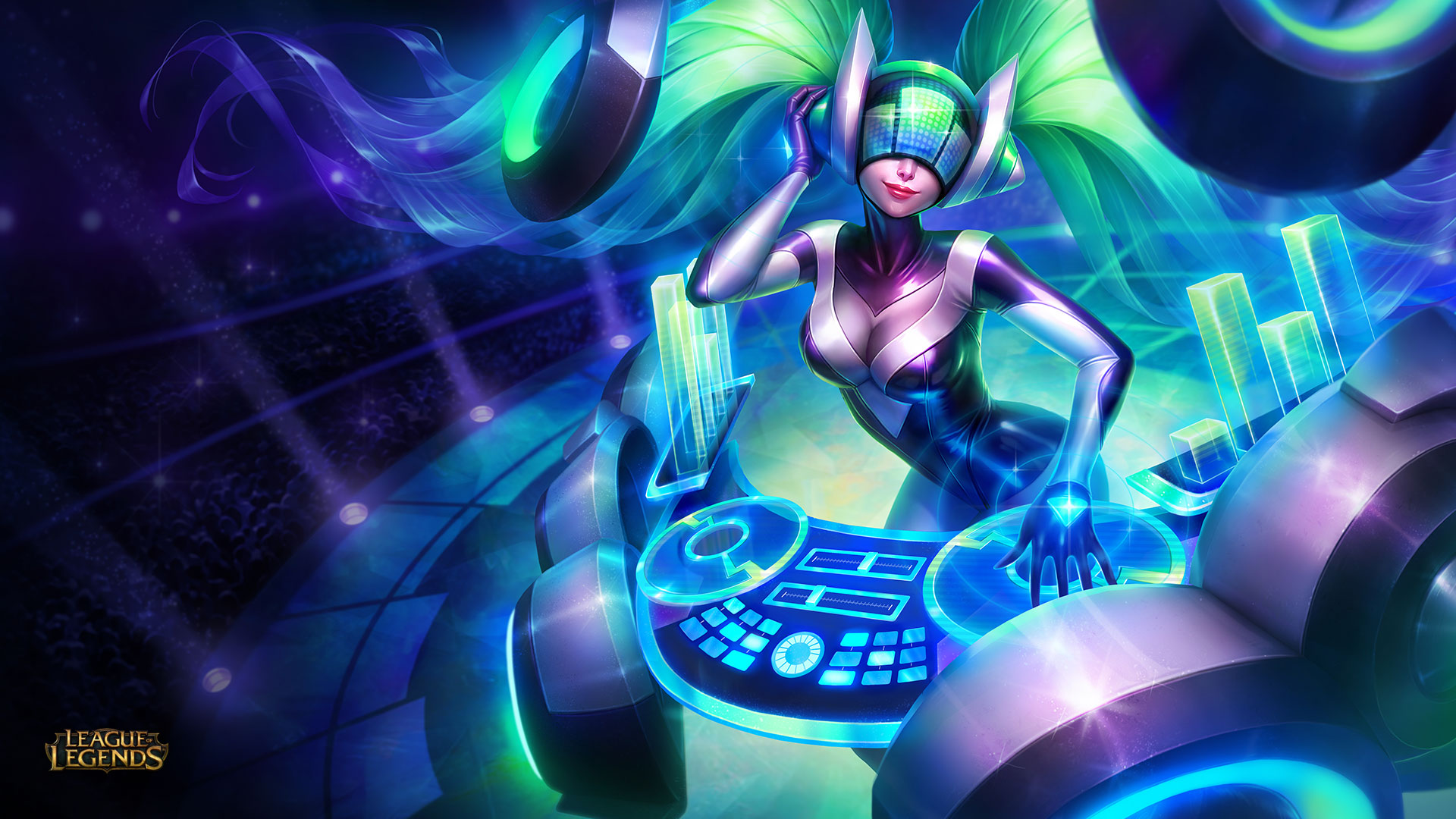 DJ Sona Wallpaper – Kinetic