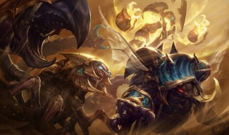 Guardian of the Sands Rammu, Xerath & Skarner