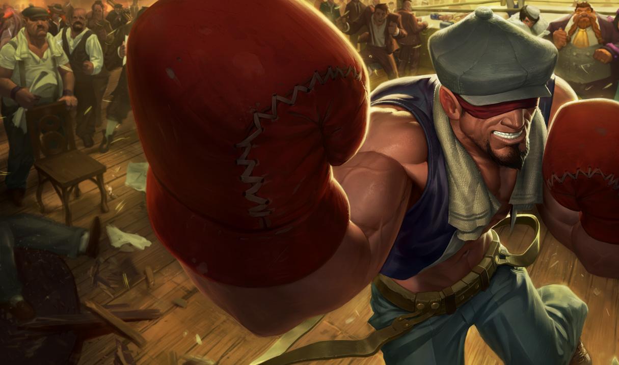 Knockout Lee Sin Skin