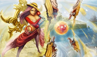 Pirate Queen Irelia Skin Concept