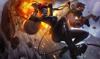 Safecracker Evelynn and Pickpocket Twitch Skins (Twitch)