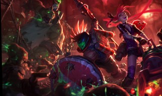 Slayer Pantheon & Jinx and Zombie Nunu Skins