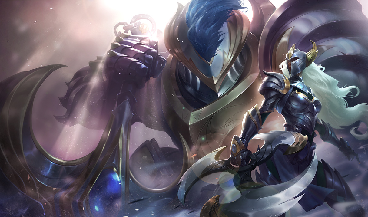 Huntress Sivir - Chinese - League of Legends Wallpapers
