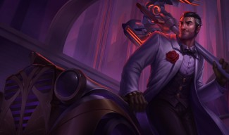 Debonair Jayce Skin Splash Art