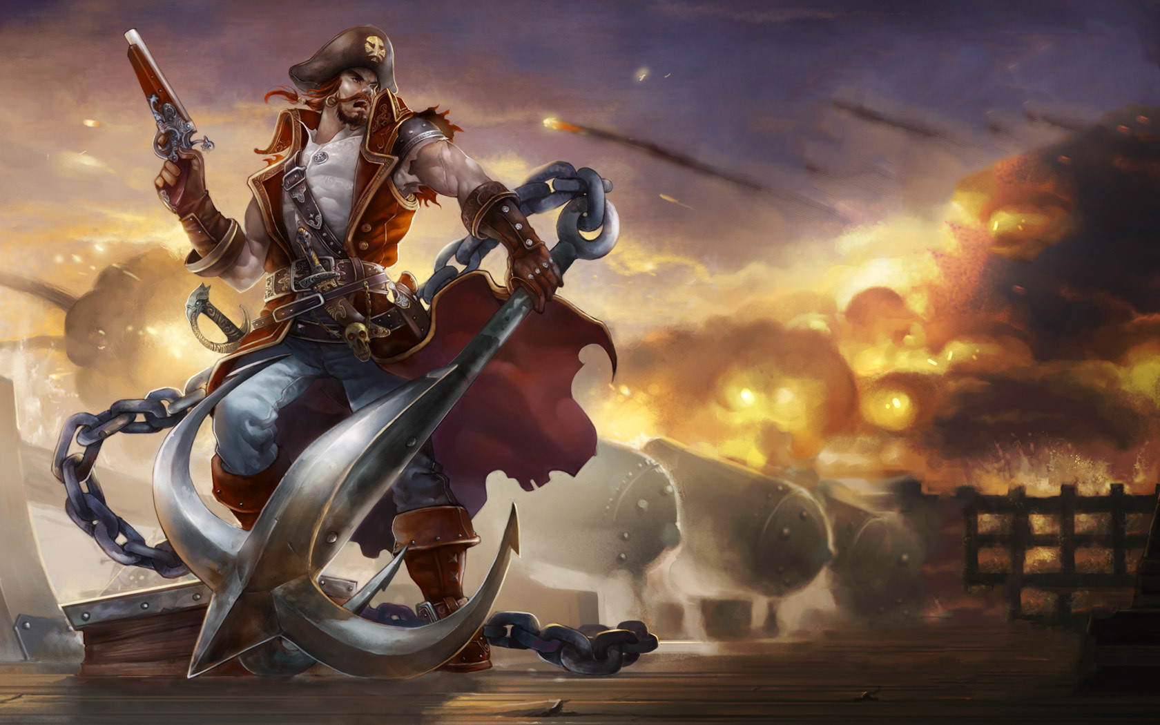 Gangplank Wallpaper