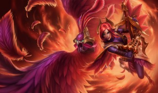 Phoenix Quinn Skin Splash Art