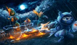 Burning Heart of the Tempest Kennen Wallpaper