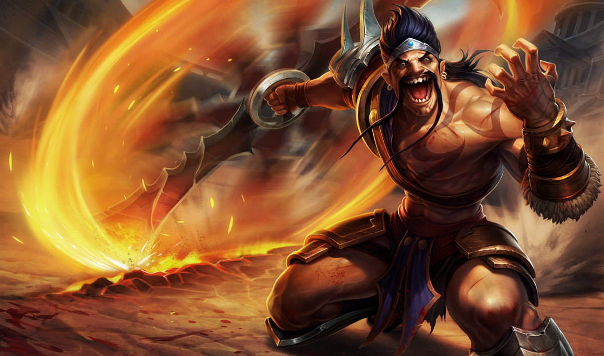 Official splash art for Gladiator Draven, skin revealed on March 6th ... Orianna Splash Art