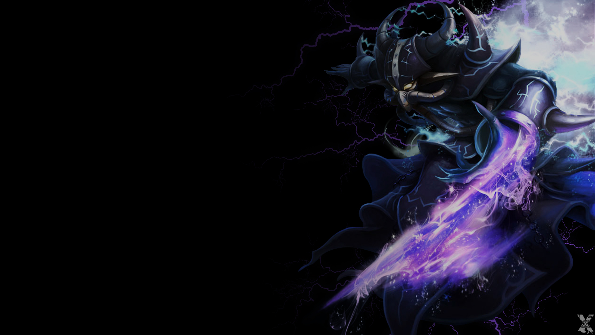 Kassadin wallpaper by Andrew Xon McLelland