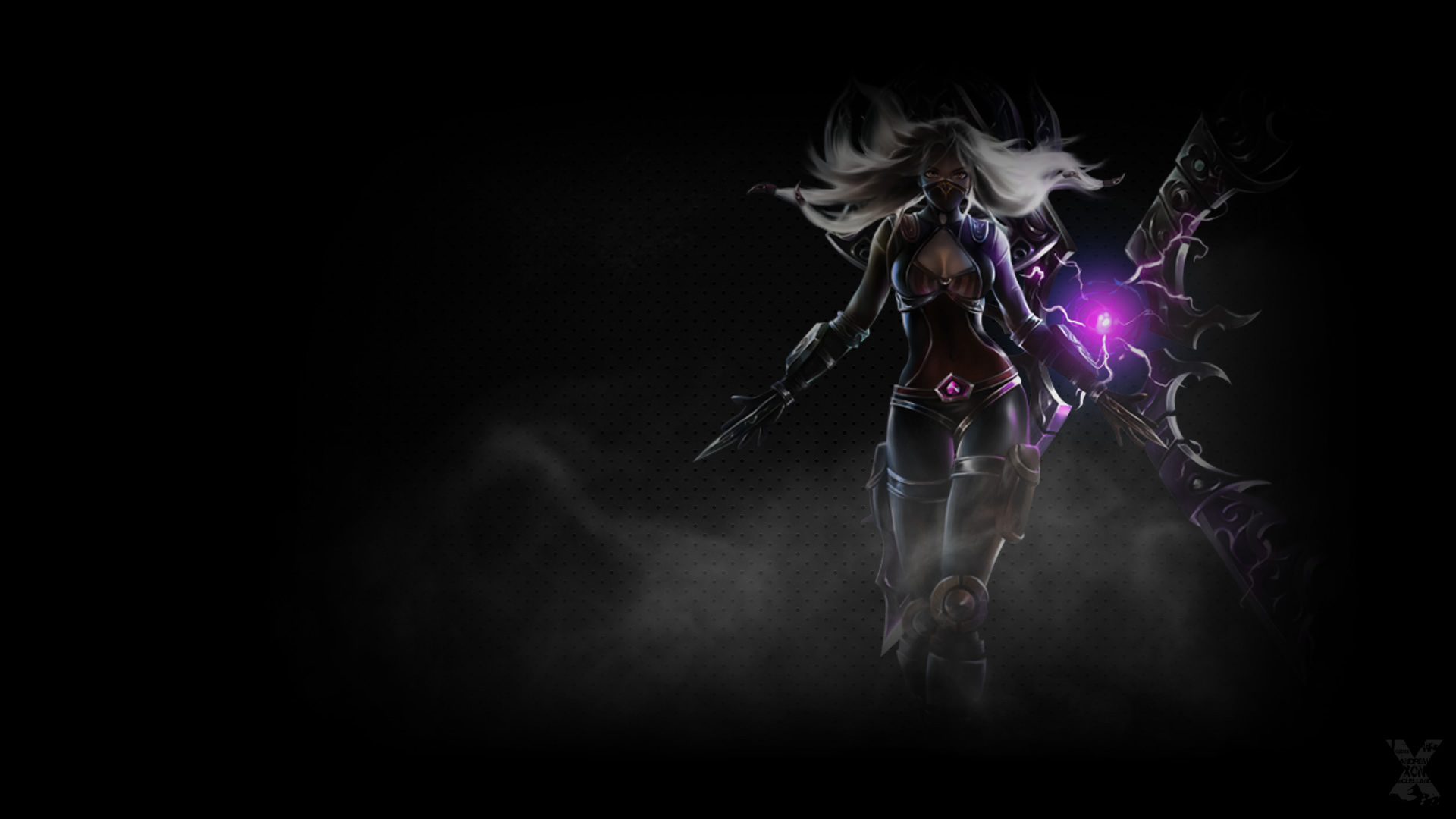 Nightblade Irelia Wallpaper League Of Legends Wallpapers