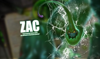 "Zac ""Screen Crack"" Wallpaper by Andrew Xon McLelland"