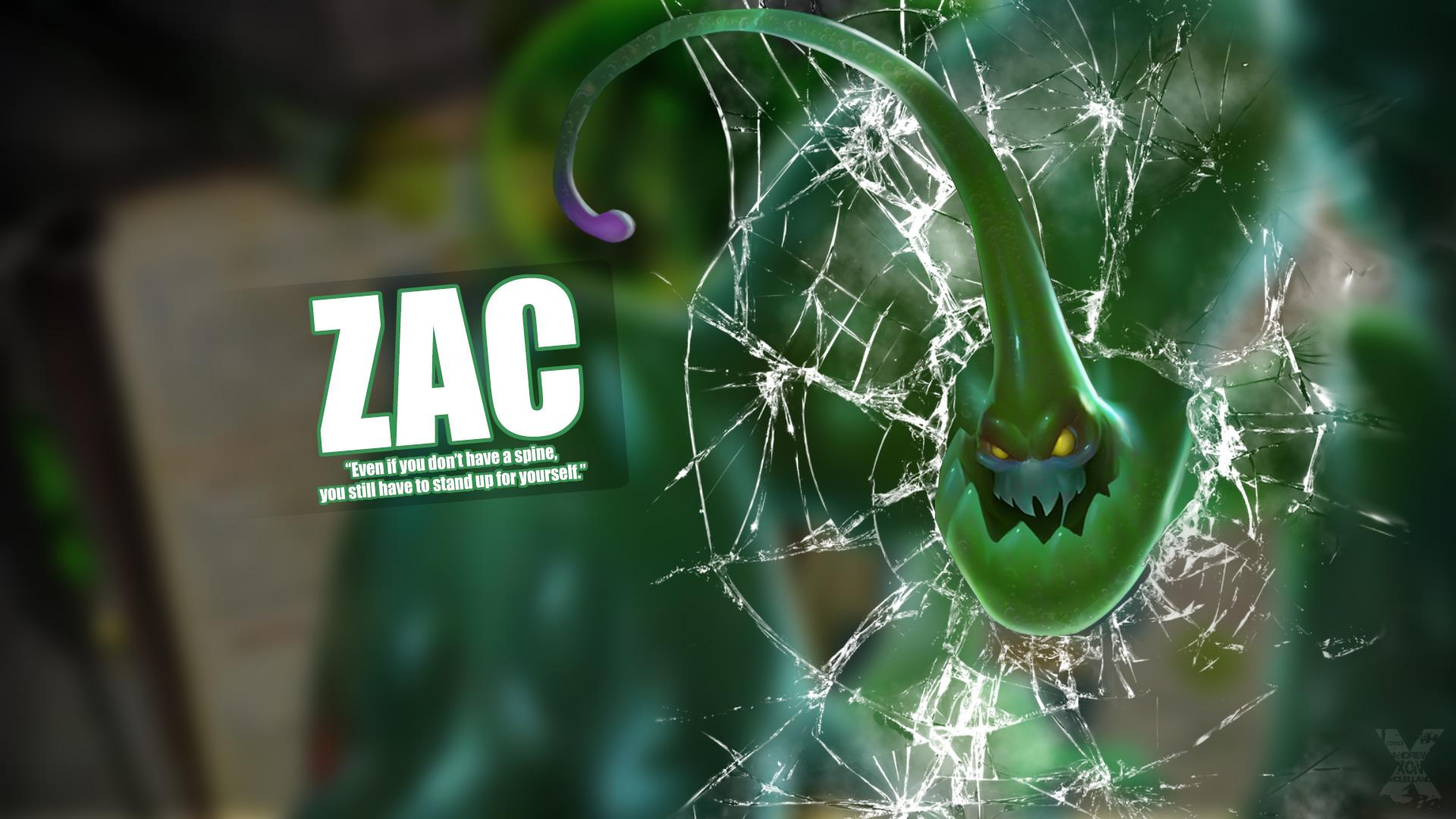Zac League Of Legends Skins