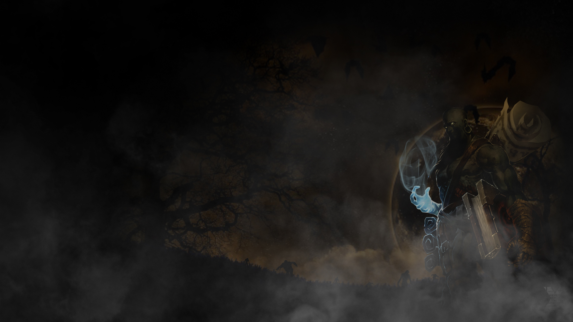 Zombie Ryze Deluxe Wallpaper - League of Legends Wallpapers