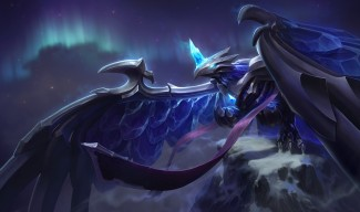 Black Frost Anivia Skin Splash Art