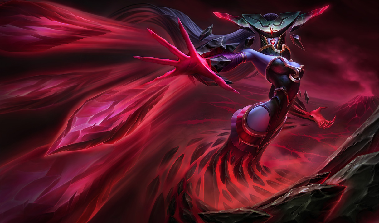 Bloodstone Lissandra Skin Splash Art
