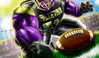 Defensive Lineman Alistar by JimtheSlim222