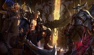 Sea Hunter Aatrox, Rogue Admiral Garen, and Corsair Quinn Skins