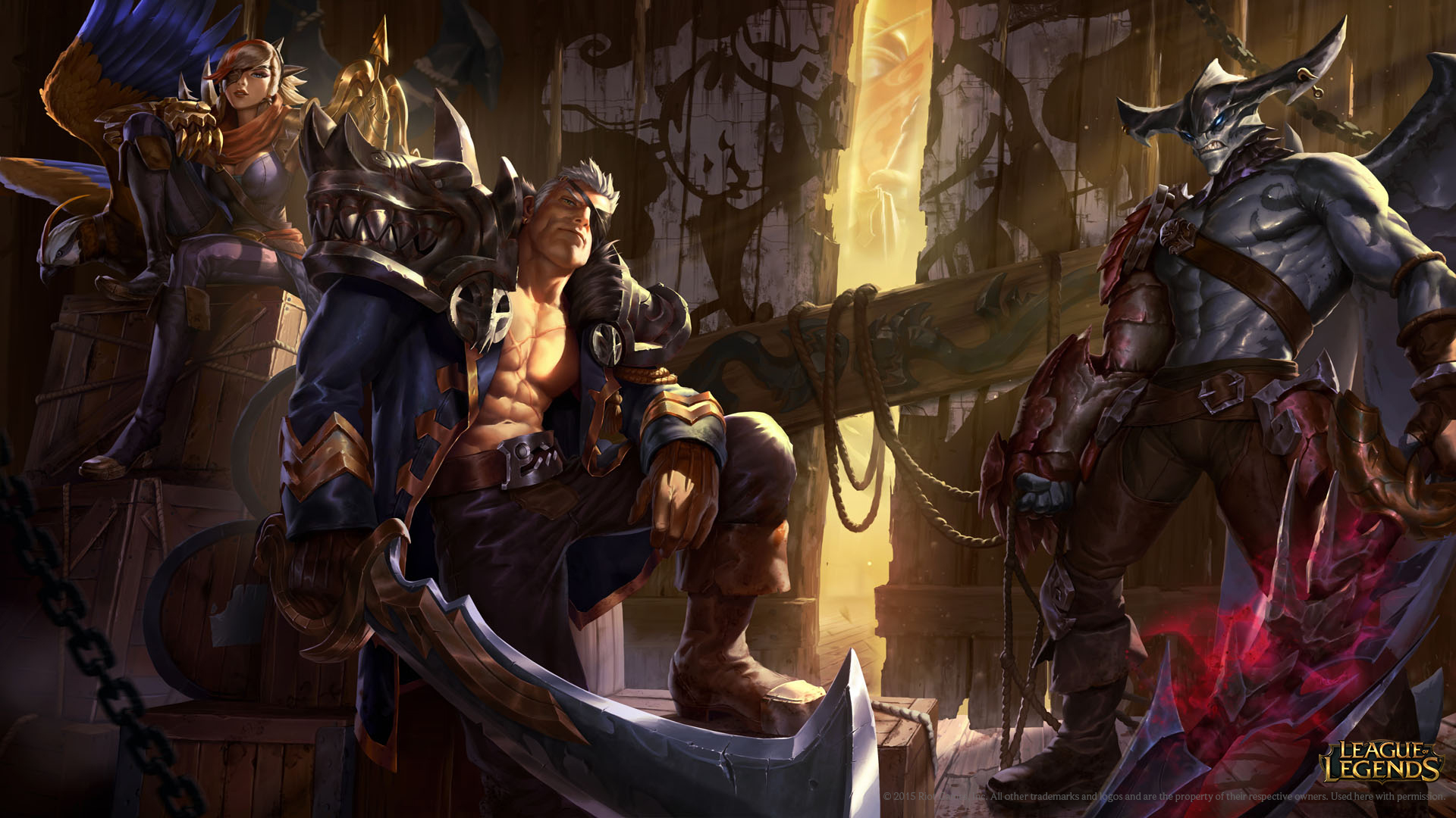 Slaughter Docks Skins Wallpaper