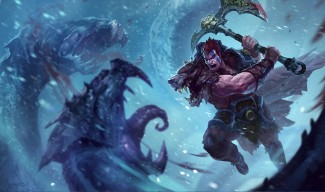 Woad King Darius Skin Splash Art