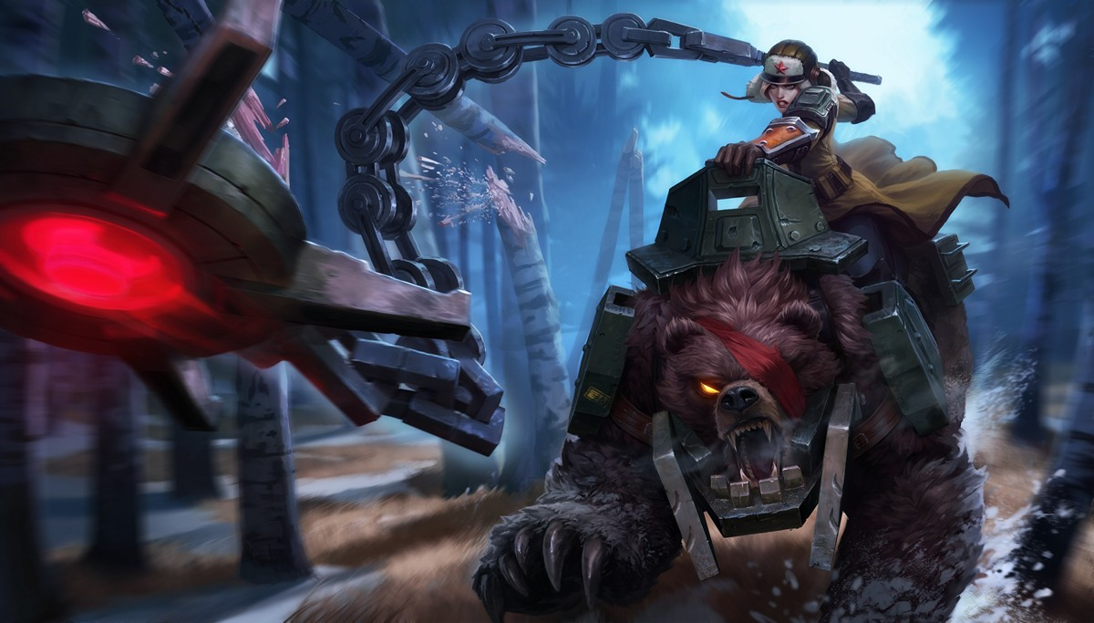 Bear Cavalry Sejuani Skin League Of Legends Wallpapers