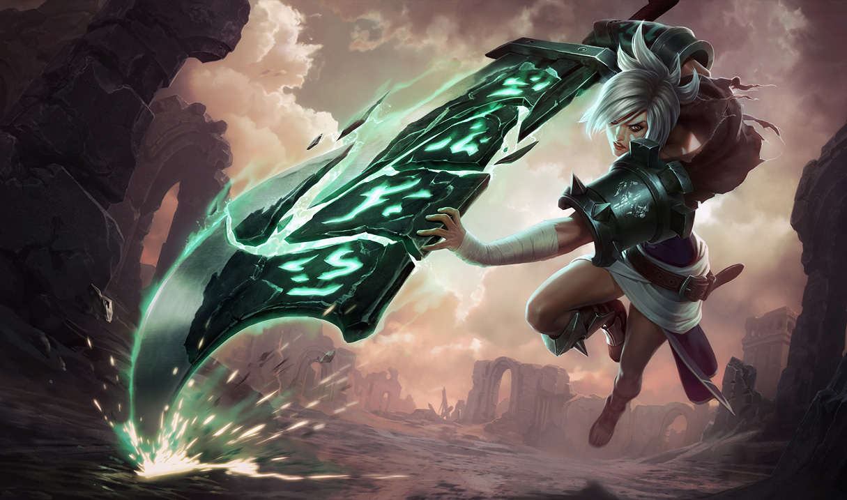 Riven Classic Skin Splash Art