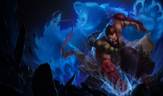 Spirit Guard Udyr Skin Splash Art