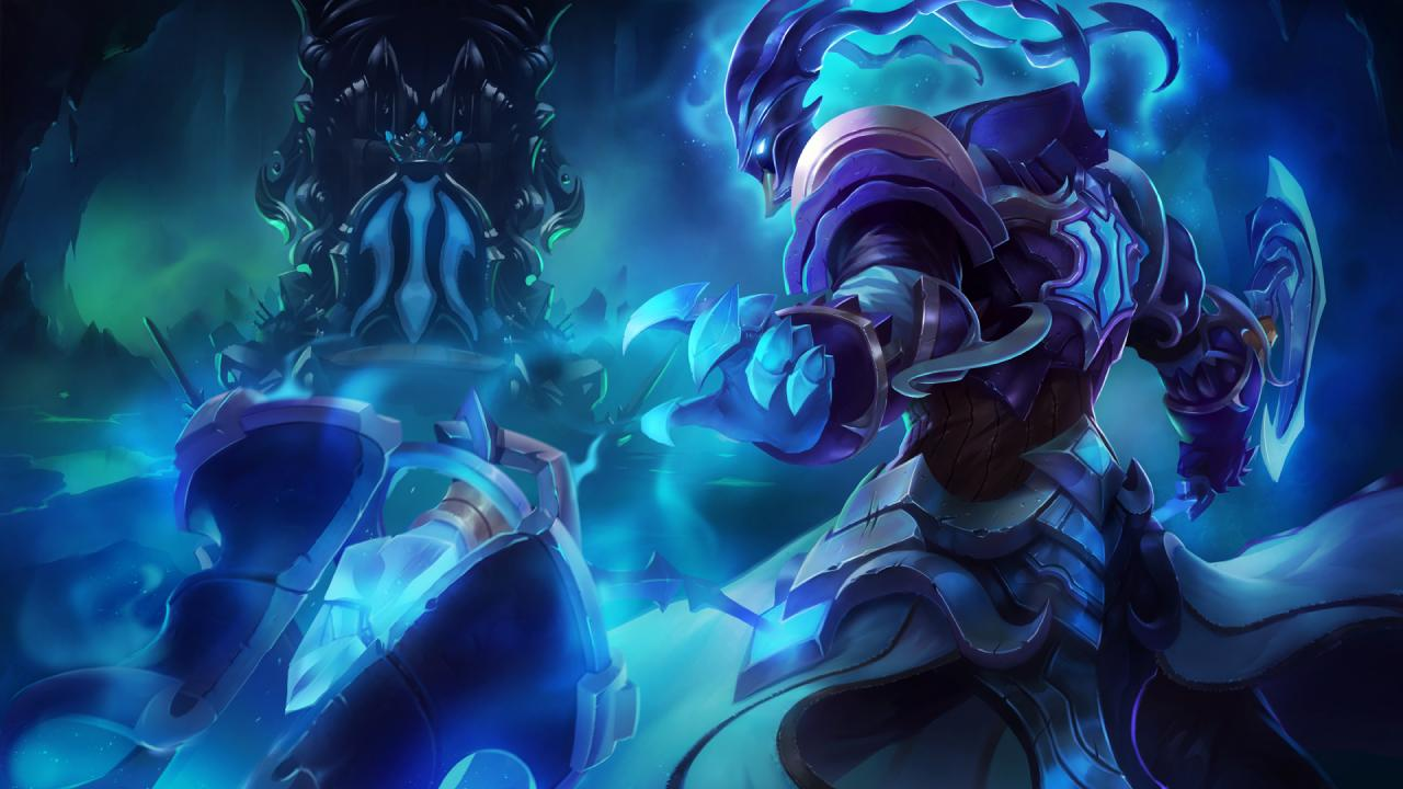 Official splash art for Championship Thresh skin, first revealed on ... Orianna Splash Art