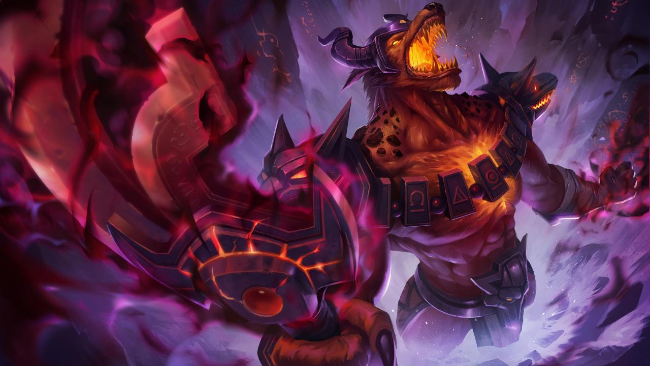 Infernal Nasus Skin Splash