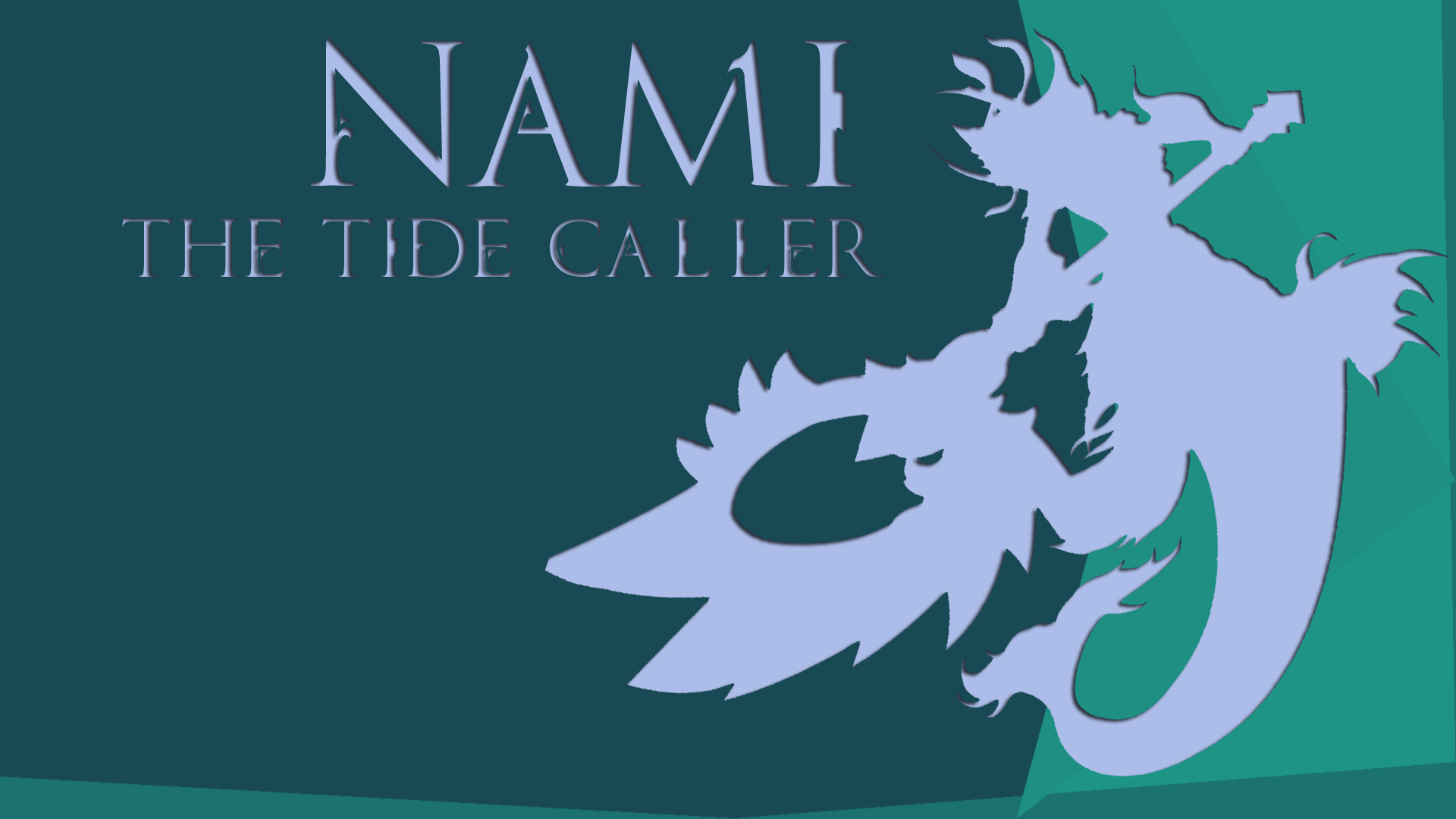 Nami The Tide Caller League Of Legends Wallpapers