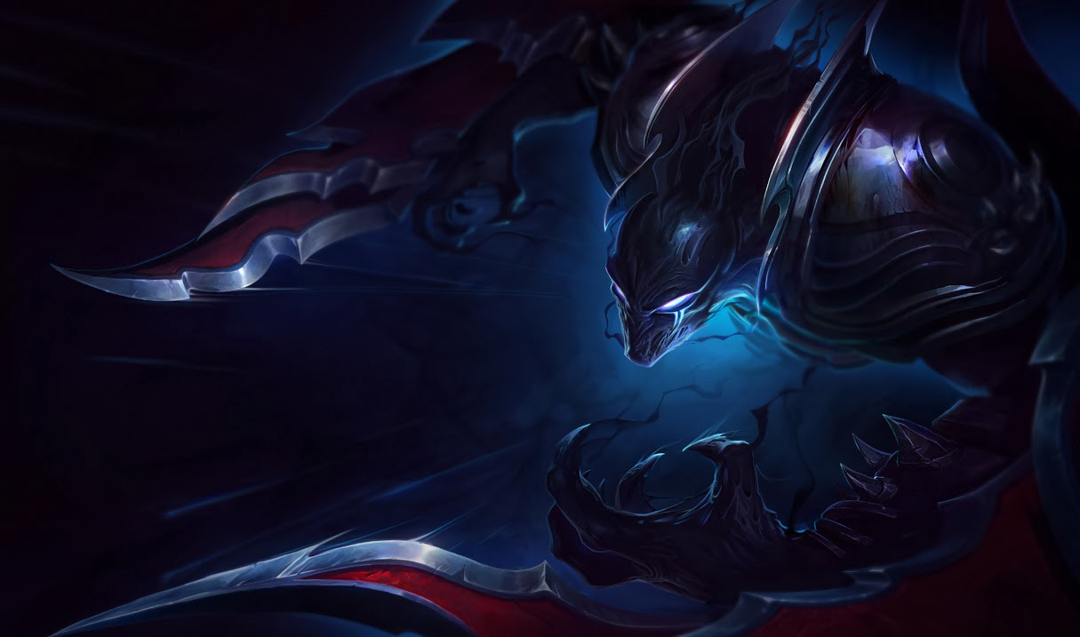 Nocturne's Classic skin splash art, updated and replaced older ... Orianna Splash Art