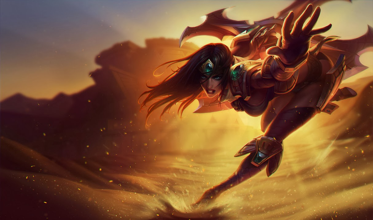 Sivir - LoLWallpapers