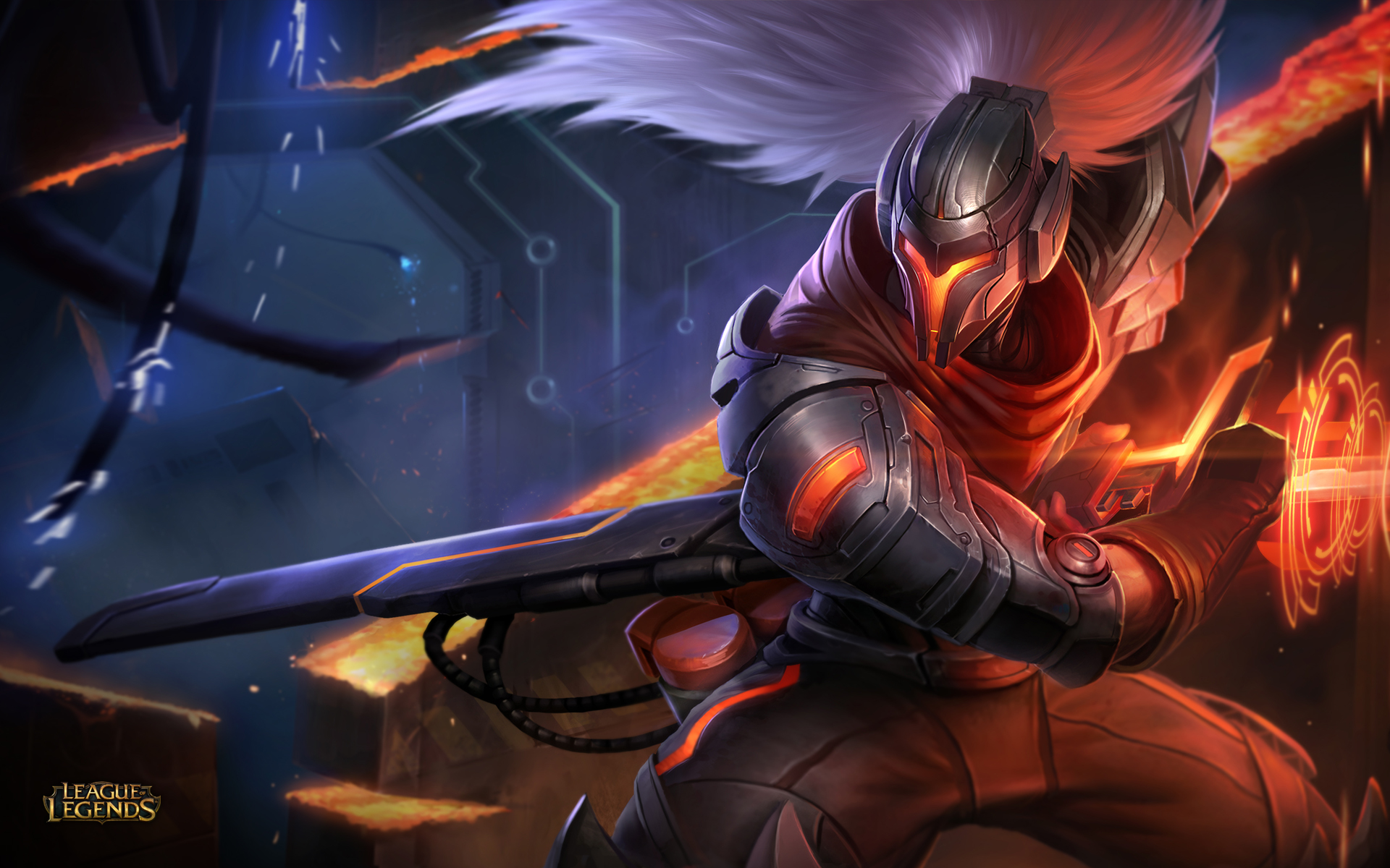 Project Yasuo Skin Wallpaper