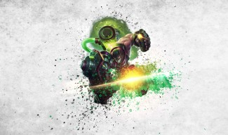 Augmented Singed Wallpaper