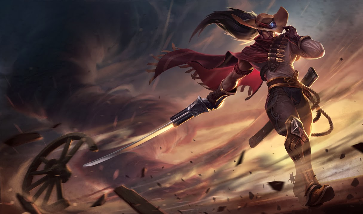 High Noon Yasuo Splash Art