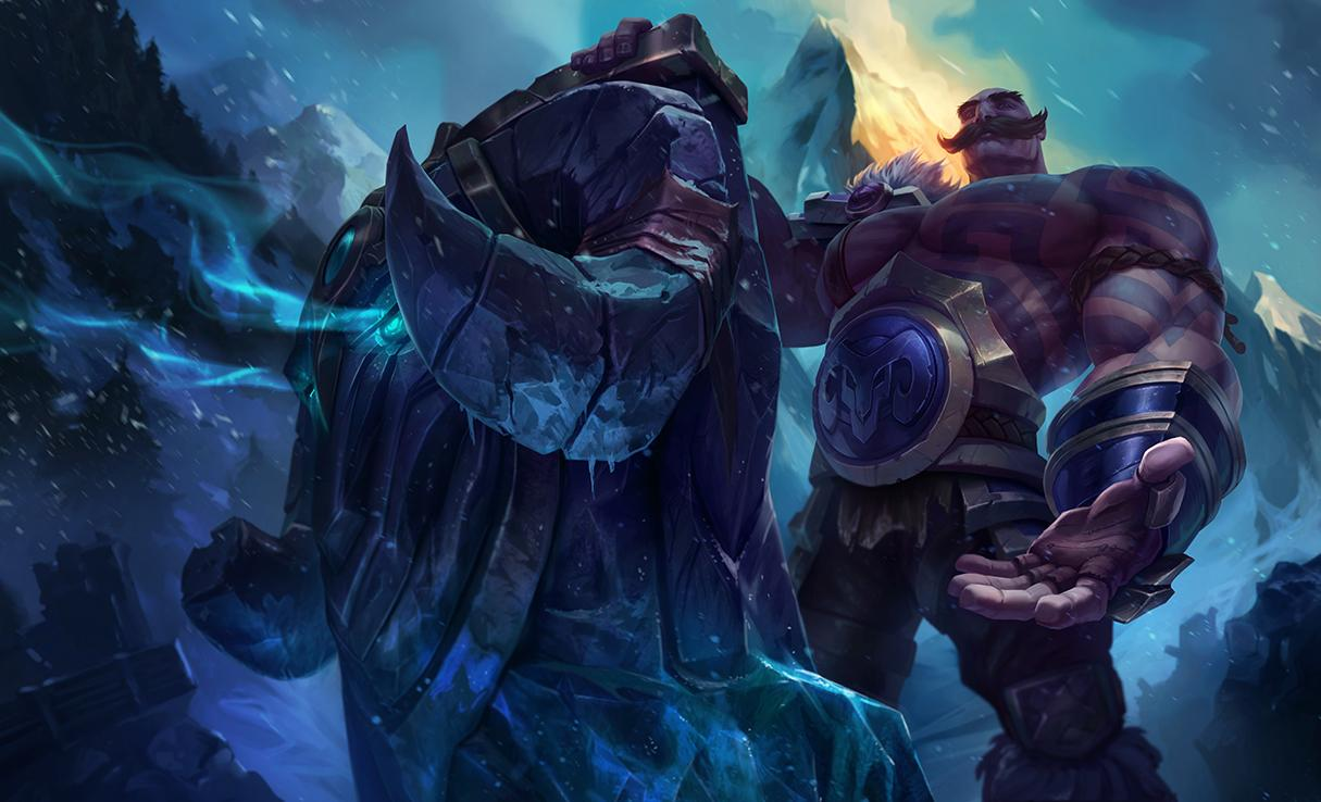 Braum Classic Skin League Of Legends Wallpapers