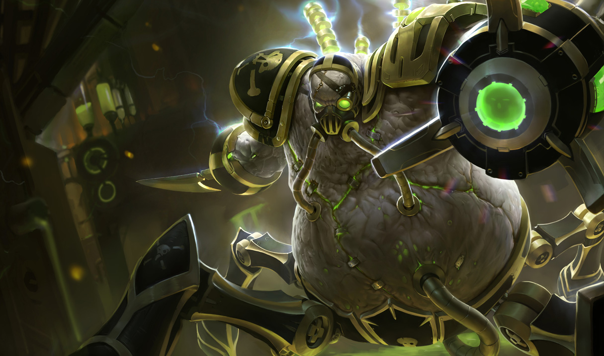 Urgot - League of Legends Wallpapers