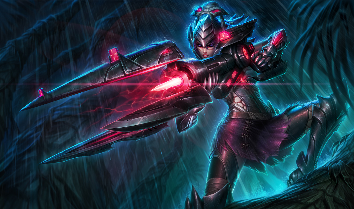 Headhunter Caitlyn Skin - League of Legends Wallpapers