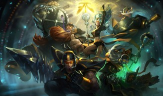 Fnatic Skins Splash Art