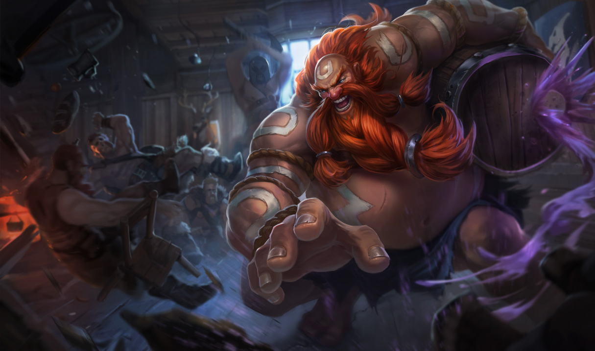 Gragas Classic Skin League Of Legends Wallpapers
