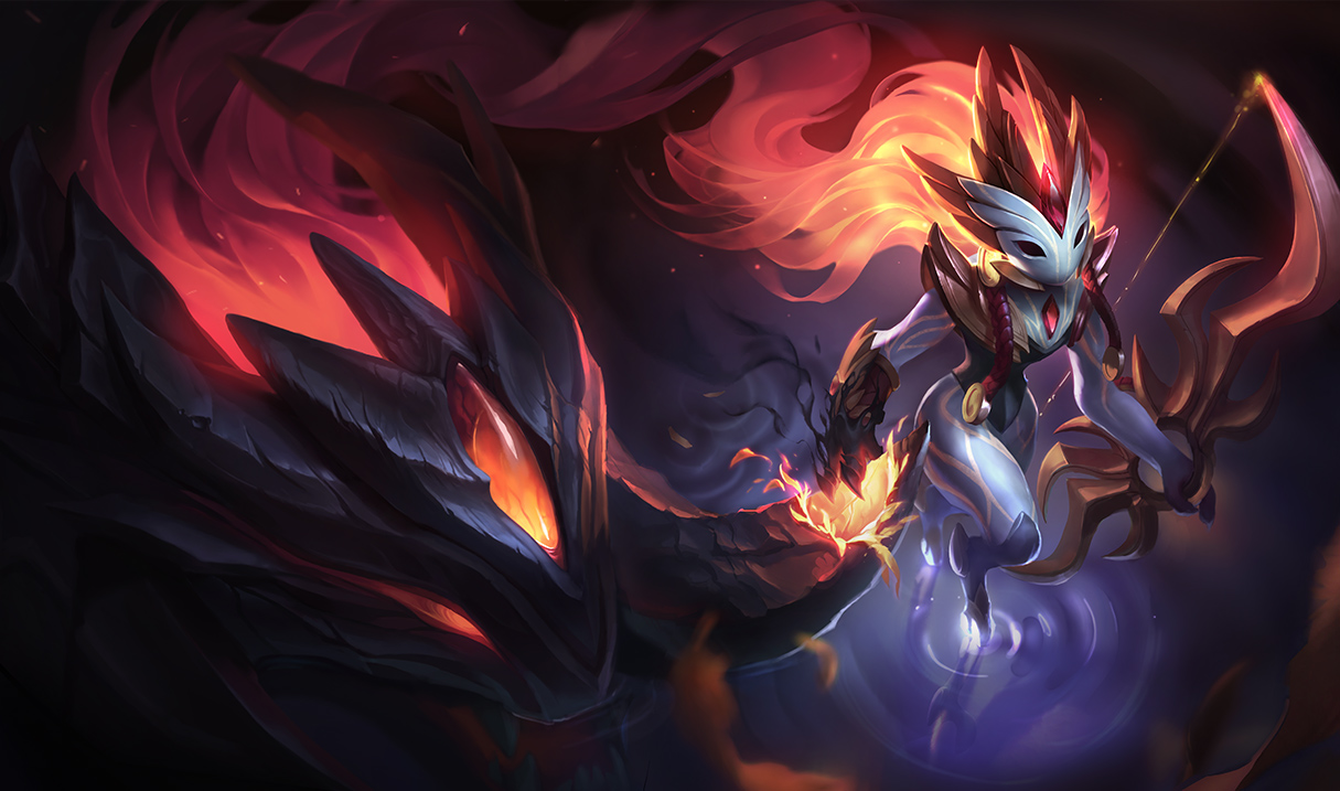 Shadowfire Kindred Skin