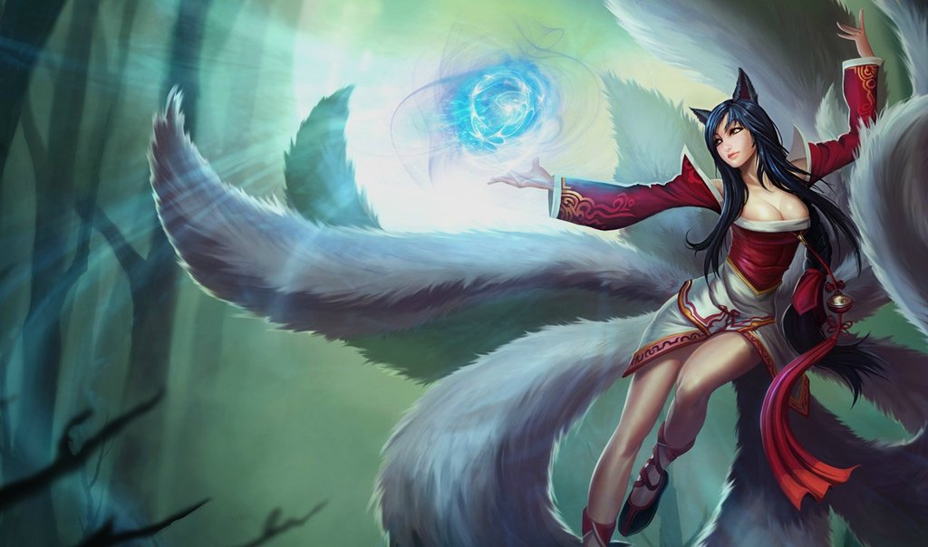 Ahri Classic Skin - Chinese - League of Legends Wallpapers
