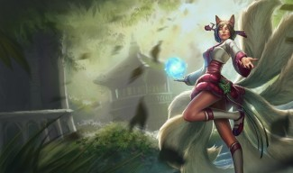 Dynasty Ahri Skin Splash Art